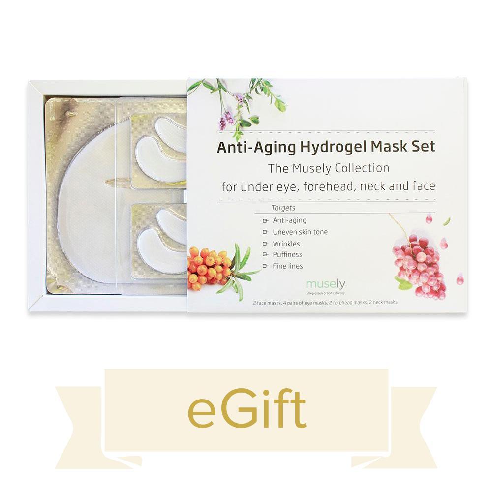 Anti-Aging Hydrogel Mask Set eGift