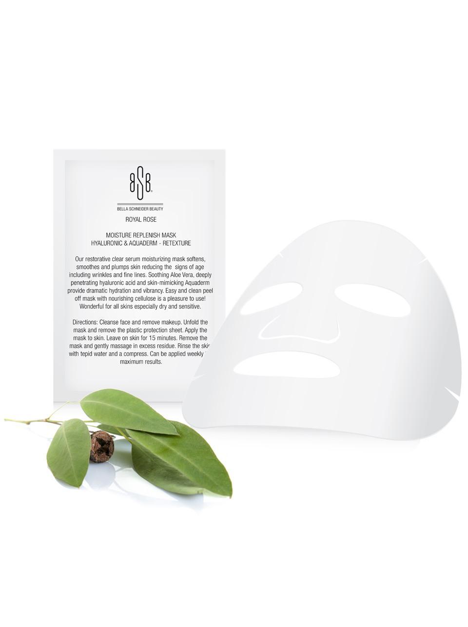 Moisture Replenish Mask Hyaluronic & Aquaderm - Retexture (SET OF 3)