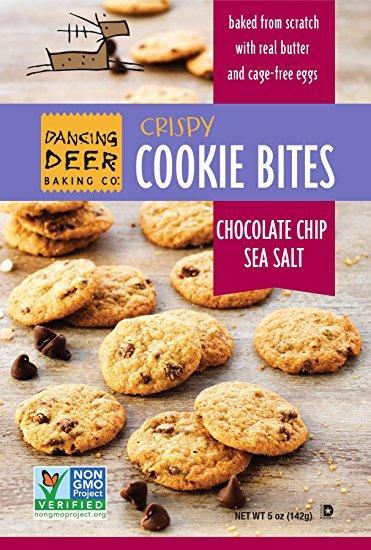 Chocolate Chip Sea Salt Crispy Cookie Bite Pouch - cs 8