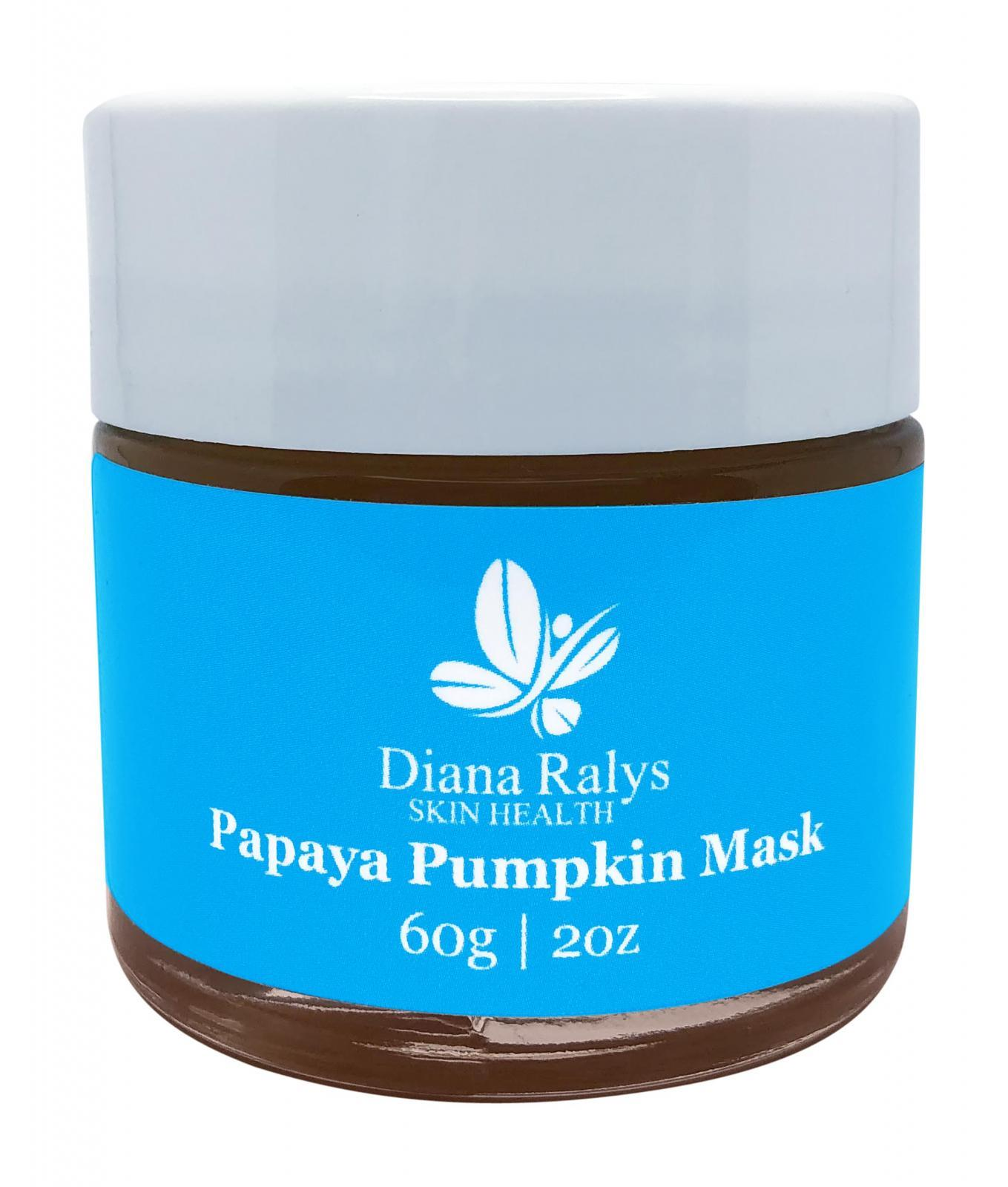 Papaya Pumpkin Mask