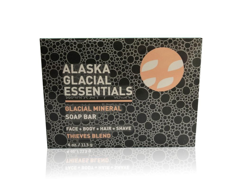 Glacial Mineral Soap Bar - THIEVES BLEND - 2 pack bundle set