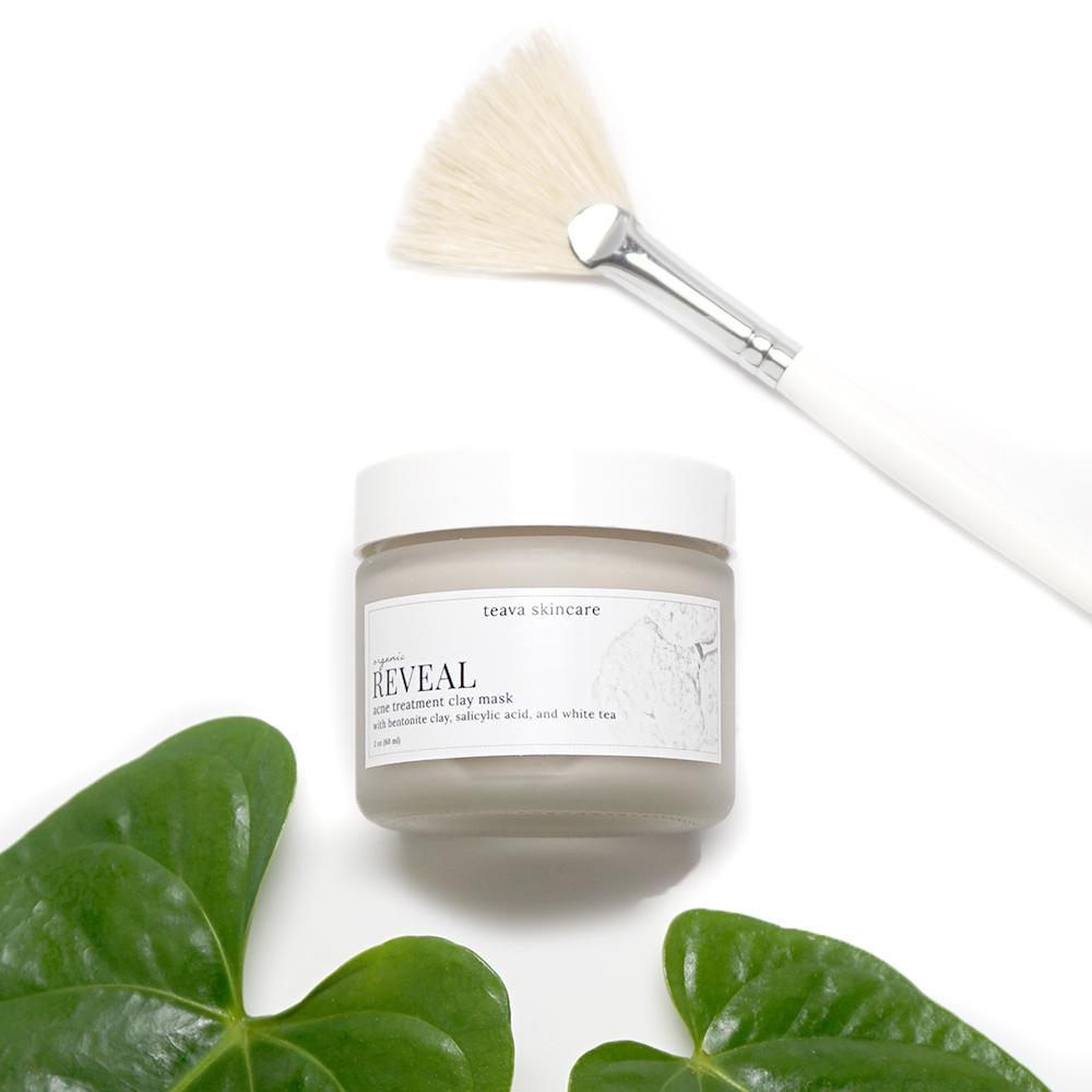 Reveal Organic Acne Treatment Clay Face Mask