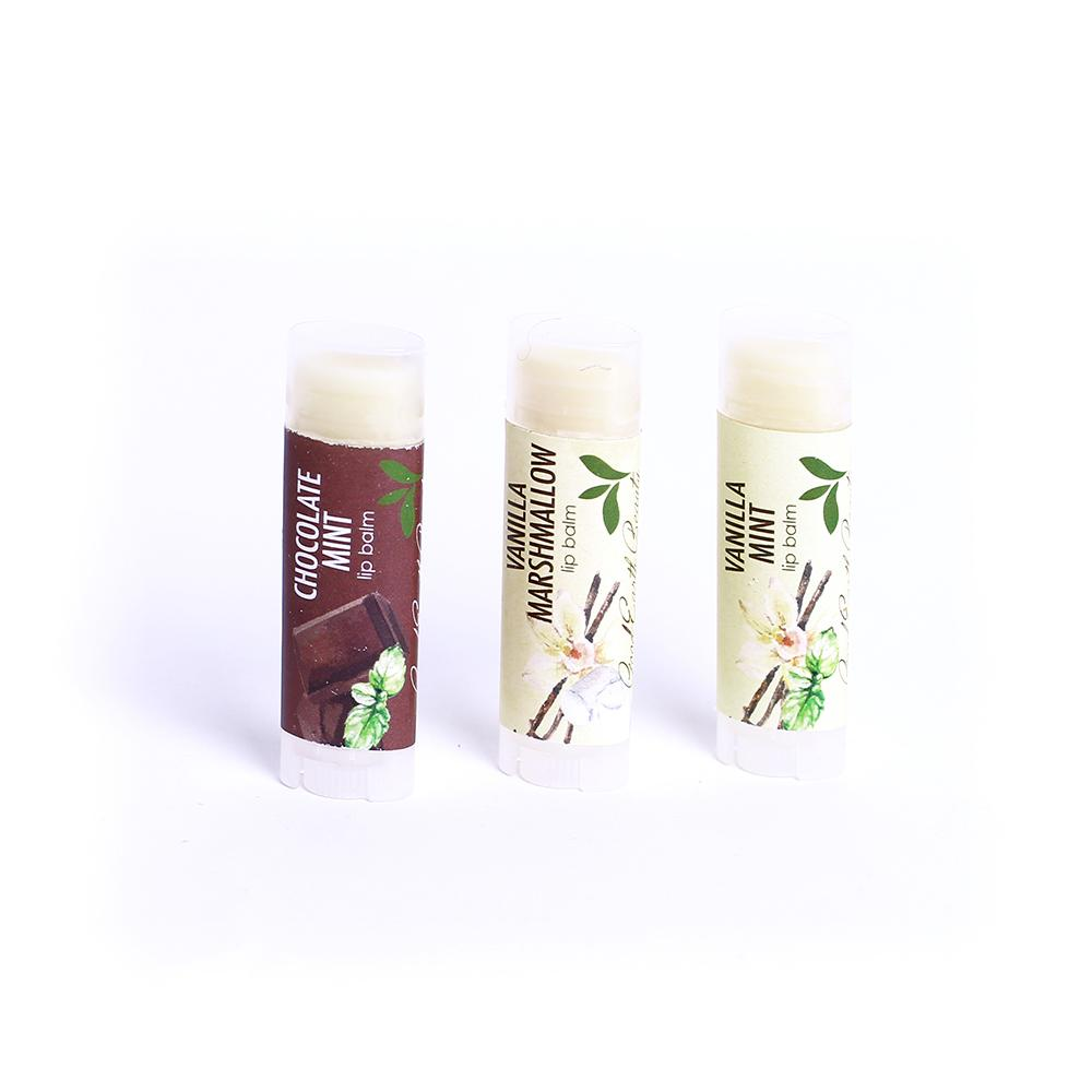 Lip Balm Vanilla Mint Vegan Good Gift Idea Quantity 1