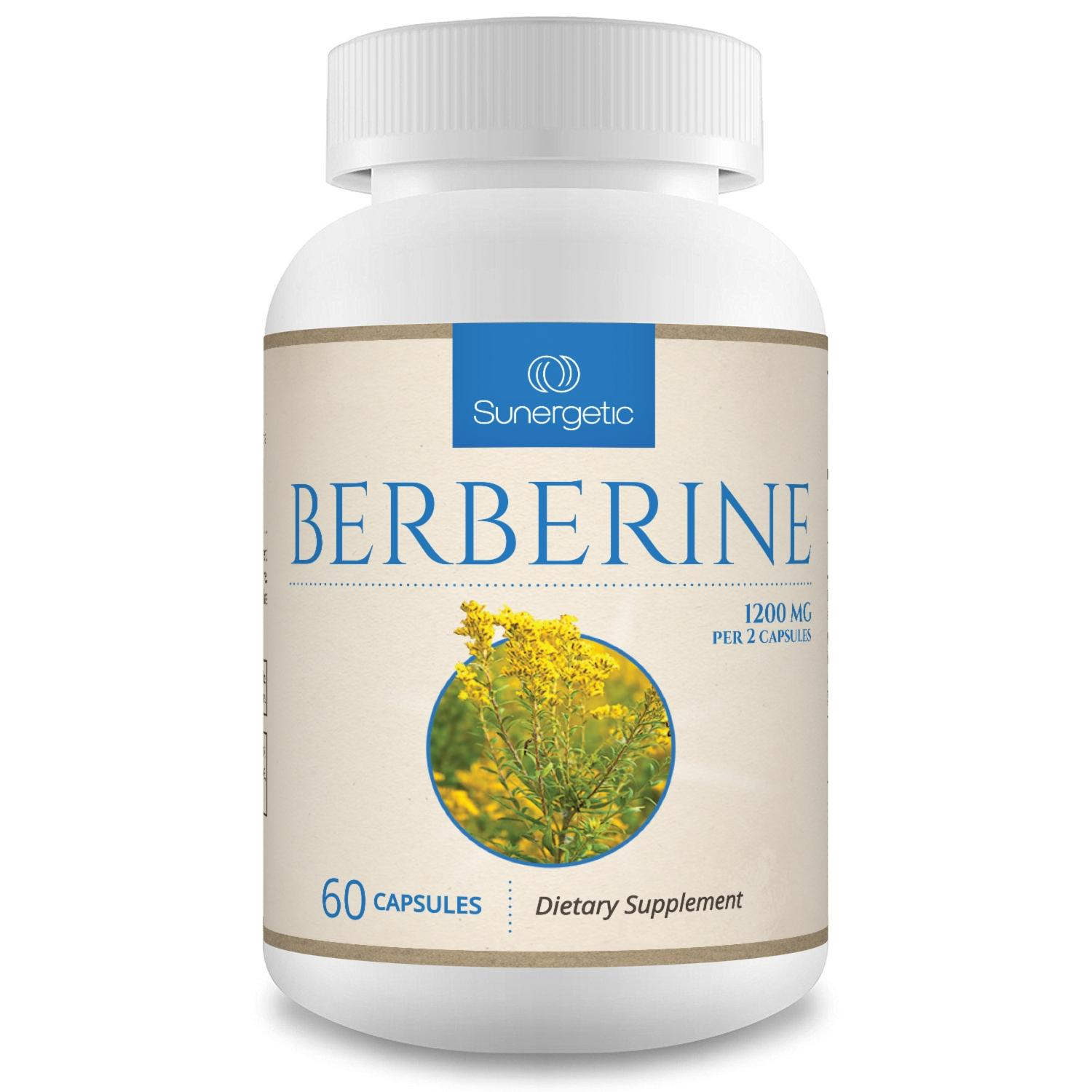 Sunergetic Premium Berberine Supplement