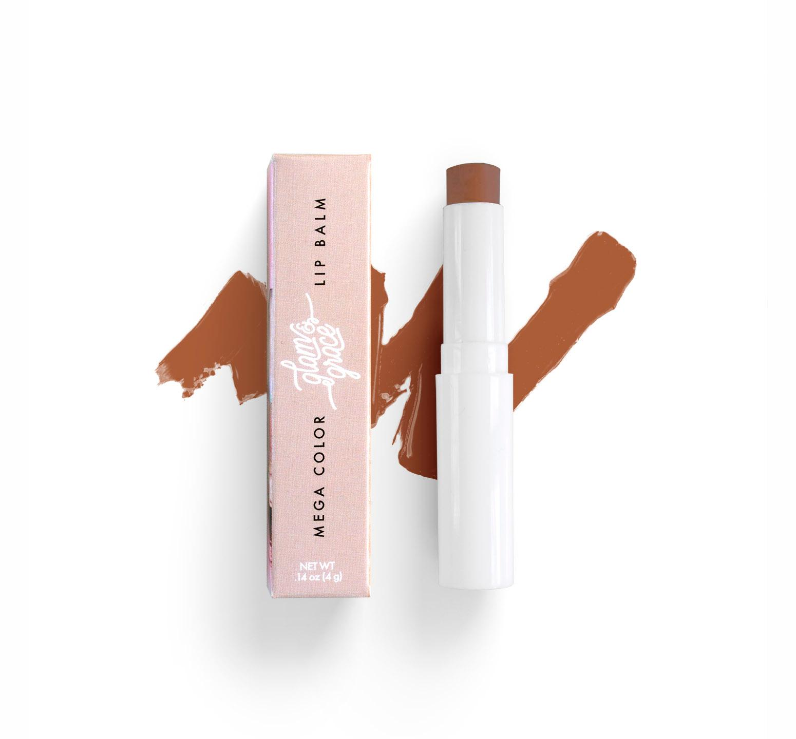 Mega Color Lip Balm - Medium Brown