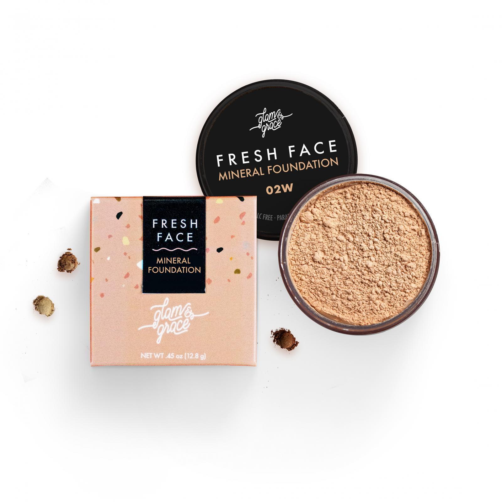 FRESH Face Mineral Foundation Powder - Beige 02W