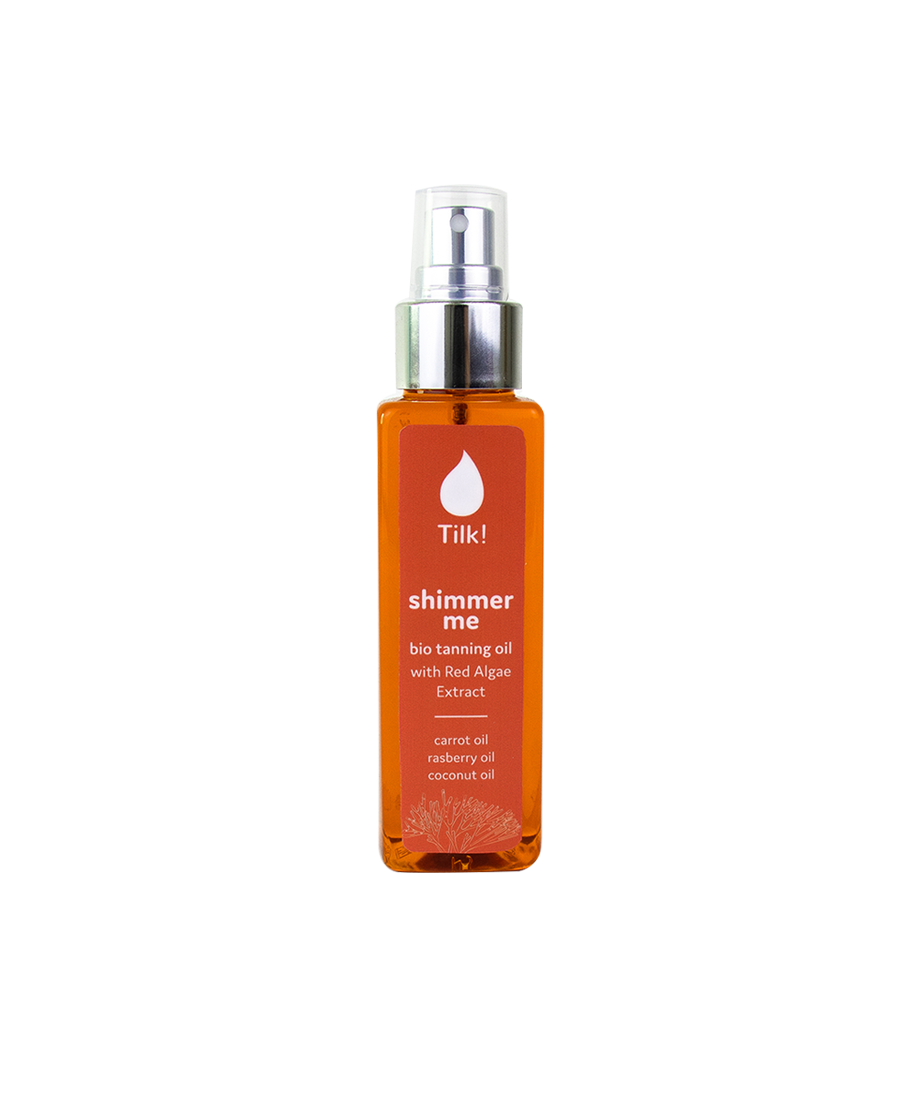 SHIMMER ME BODY OIL FOR BEAUTIFUL TAN