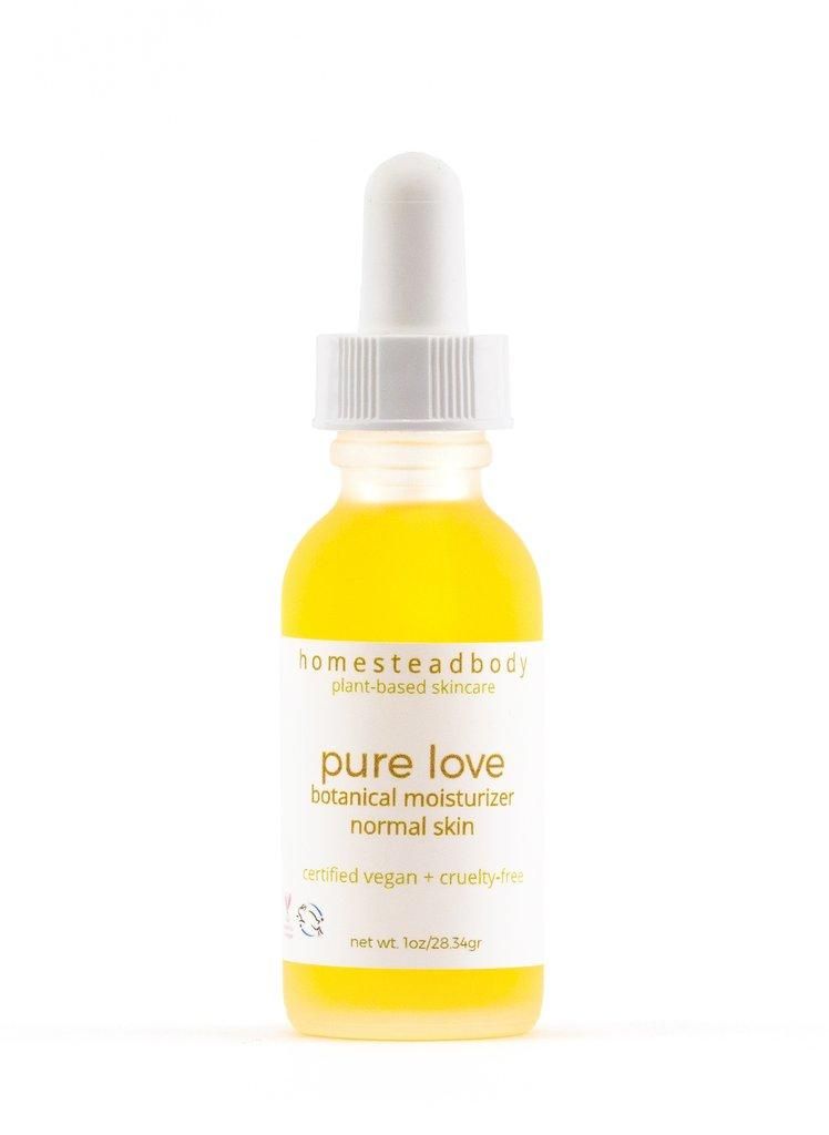 pure love organic face oil