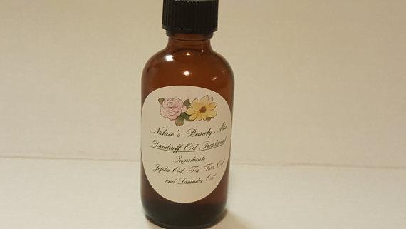 Therapeutic Dandruff Scalp Oil Treatment  4 oz