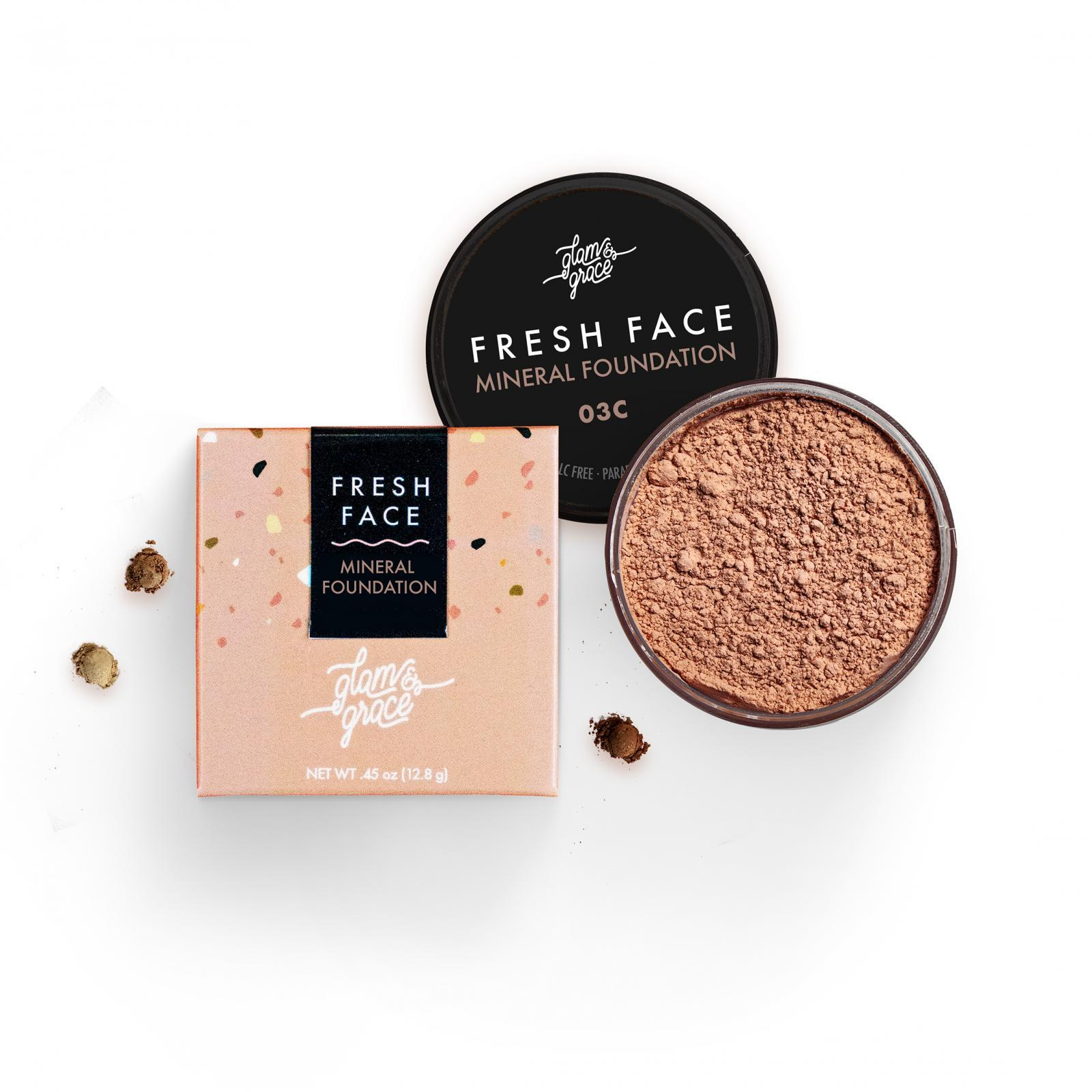 FRESH Face Mineral Foundation Powder - Tan 03C