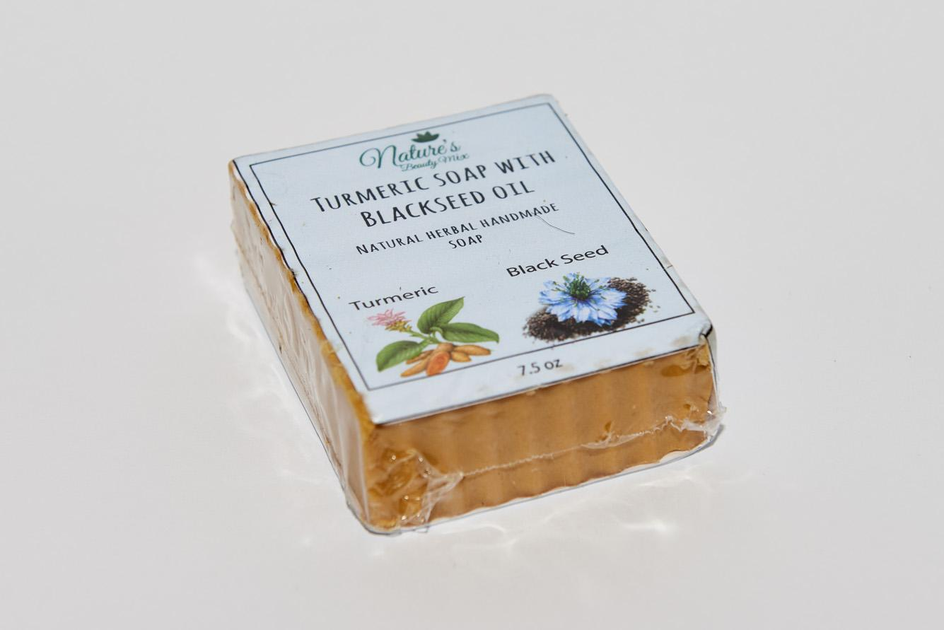 Turmeric Soap with Blackseed Oil