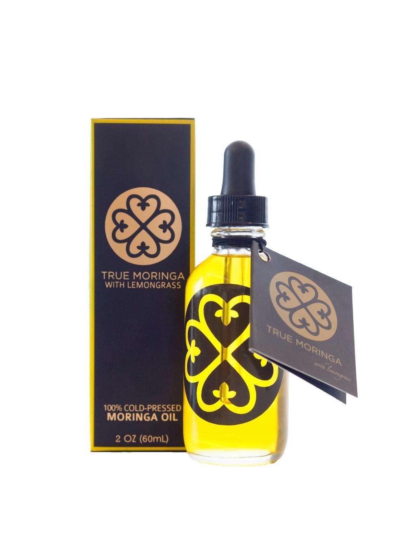 True Moringa All-Purpose Body Oil with Lemongrass