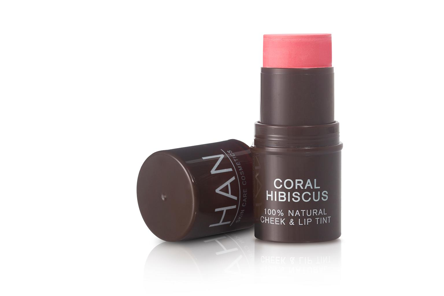 HAN Skin Care Cosmetics Cheek & Lip Tint - Coral Hibiscus
