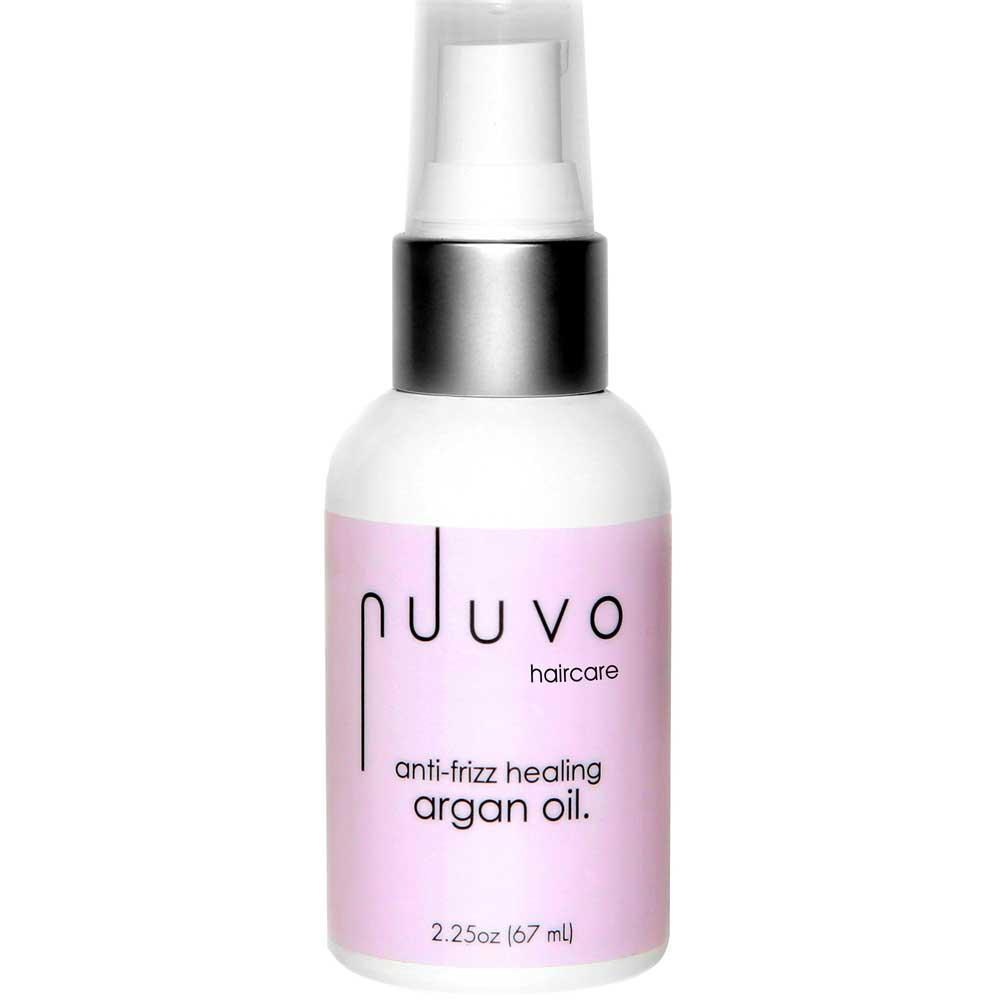 Nuuvo Haircare Anti-Frizz Healing Argan Oil - Sulfate + Paraben Free
