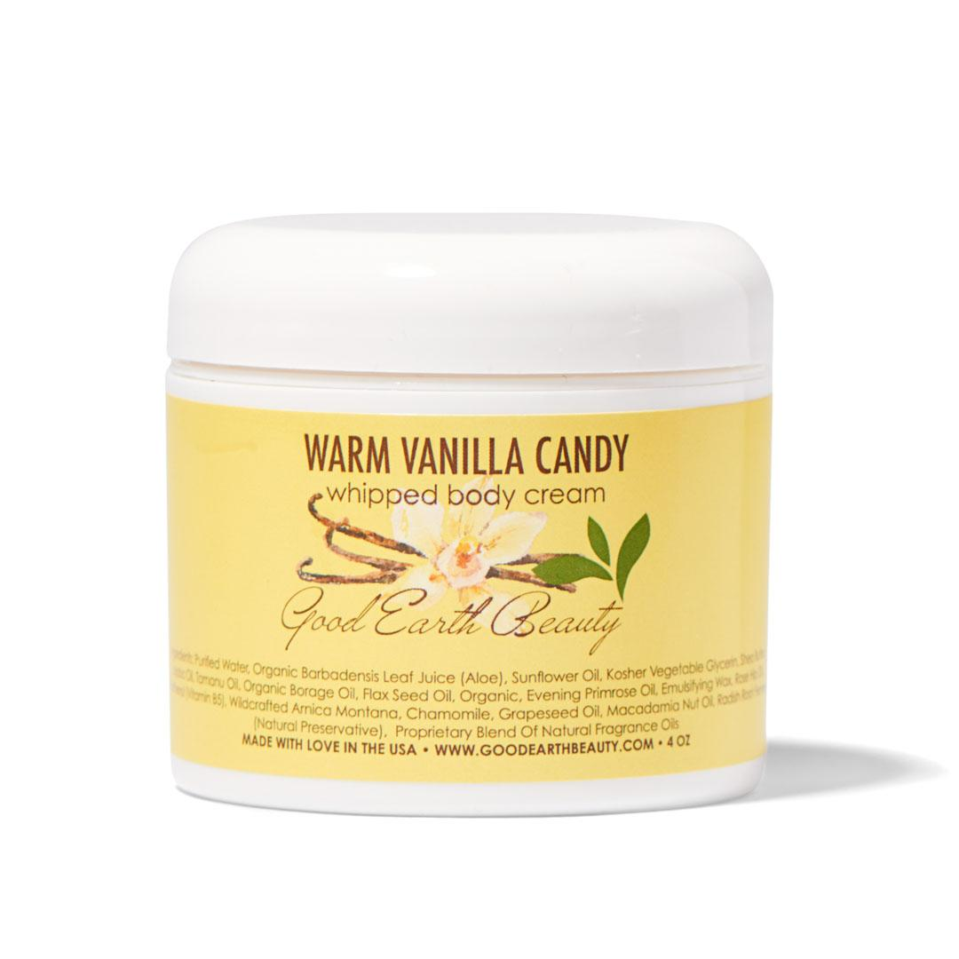 Body Cream - Natural Warm Vanilla Candy by Good Earth Beauty
