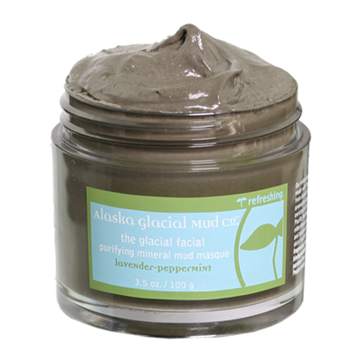 Glacial Facial Purifying Mineral Mud Masque - LAVENDER-PEPPERMINT
