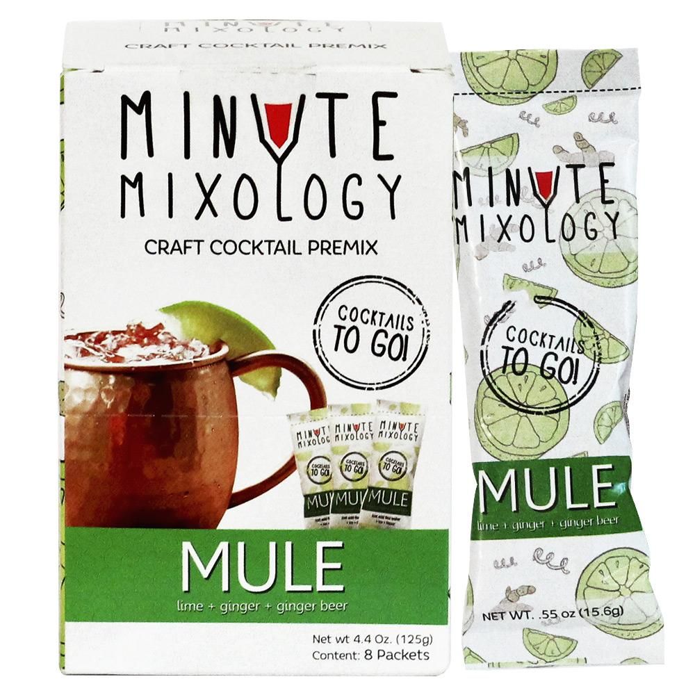 Minute Mixology | Moscow Mule | Single Box (8 packets)