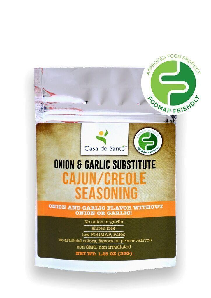 Low FODMAP Spice Mix (Cajun/Creole Seasoning) - No Onion No Garlic, Gluten Free, Gut Friendly, Artisan Onion and Garlic Substitute Seasonings, Paleo, Kosher