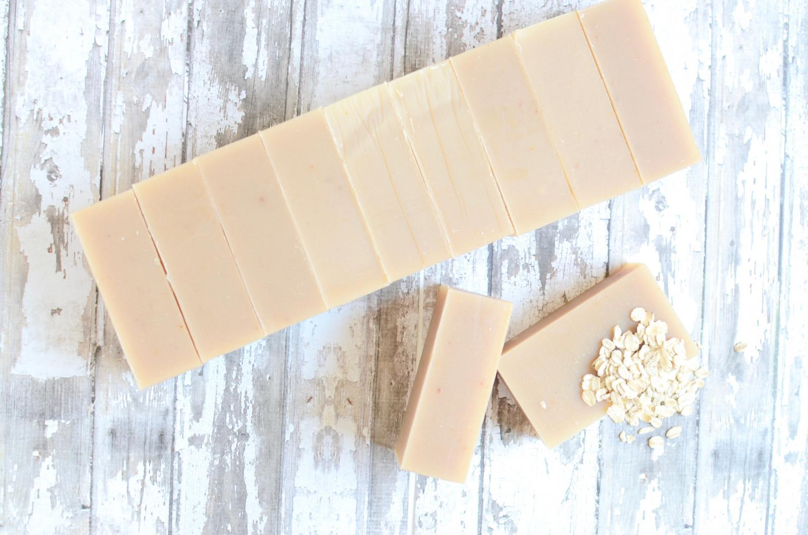 Oatmeal Goat Milk Honey Soap - Natural & Handmade