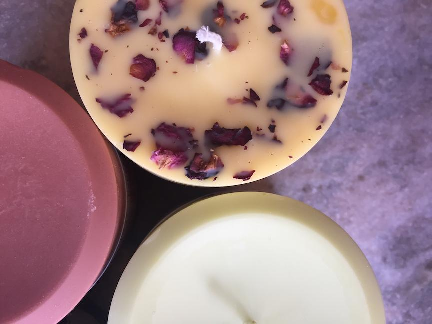 Beeswax & Soy Pillar Candles