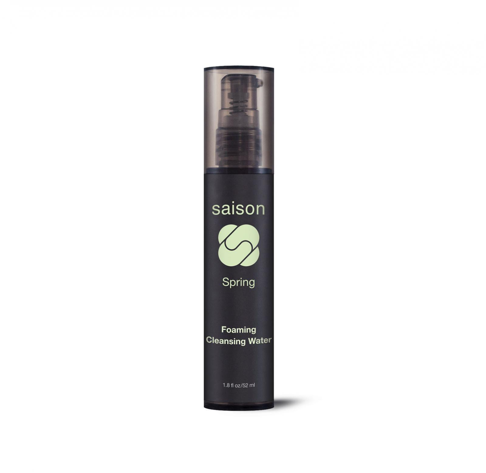 Spring Foaming Cleansing Water