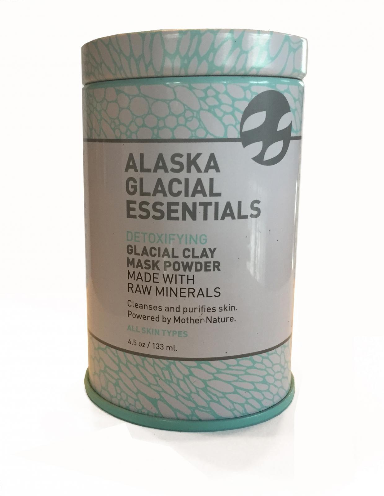 Alaska Glacial Essentials DETOXIFYING GLACIAL CLAY MASK POWDER