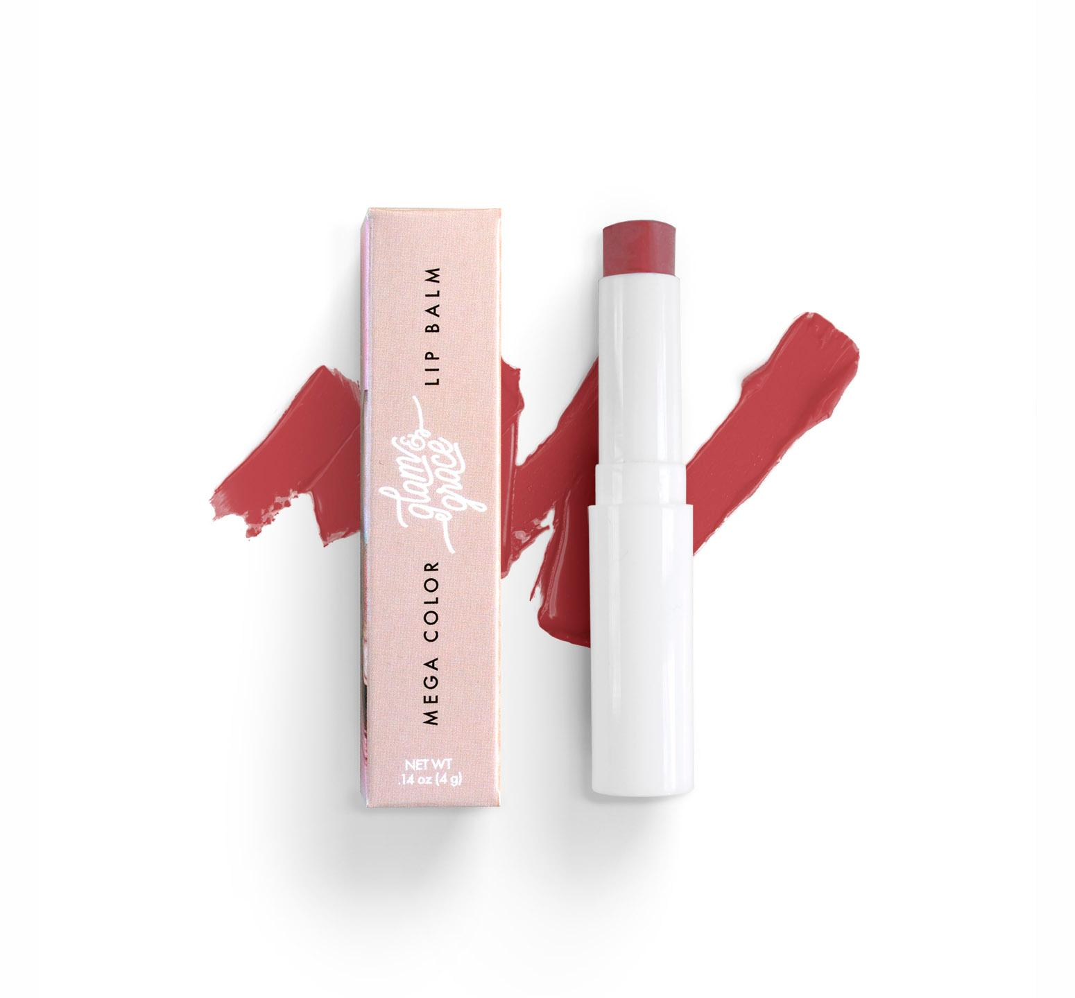 Mega Color Lip Balm - Muted Red
