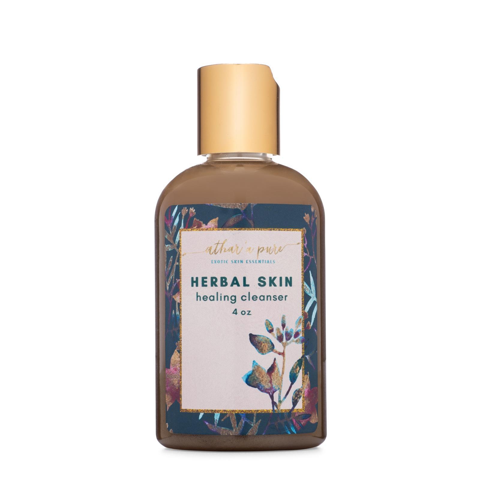 Herbal Skin Healing Cleanser (100& Natural, Vegan, Organic Face Wash)