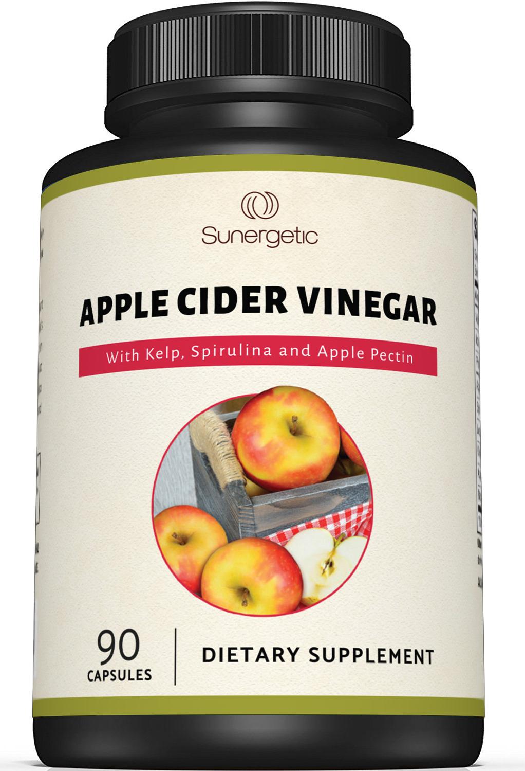 Sunergetic Premium Apple Cider Vinegar Capsules