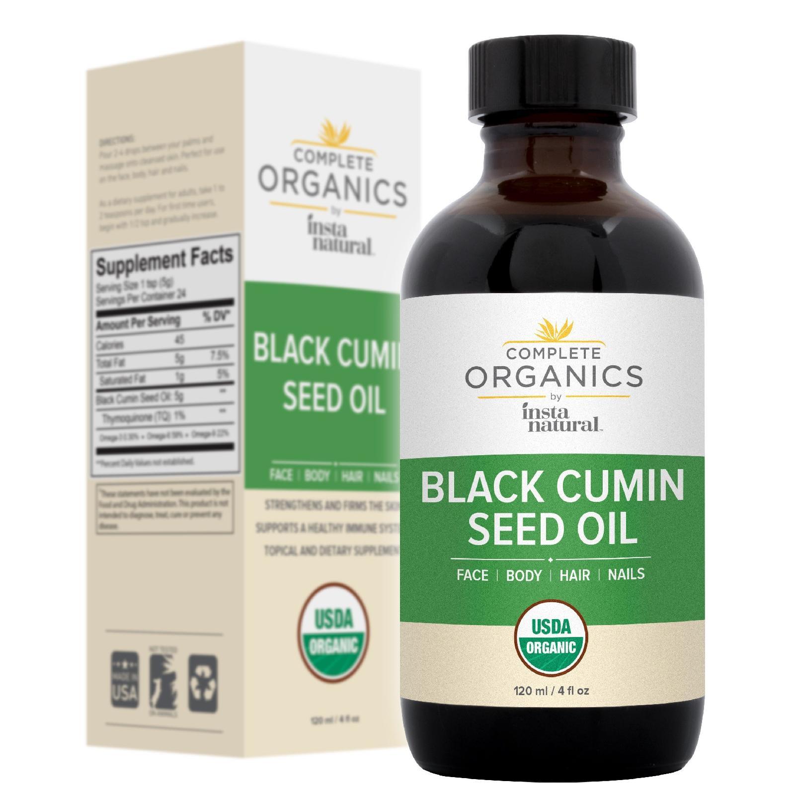 Complete Organics - Organic Black Cumin Seed Oil