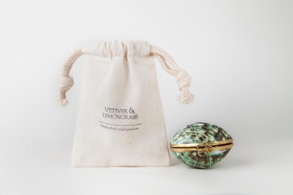 Vetiver & Lemongrass Solid Perfume