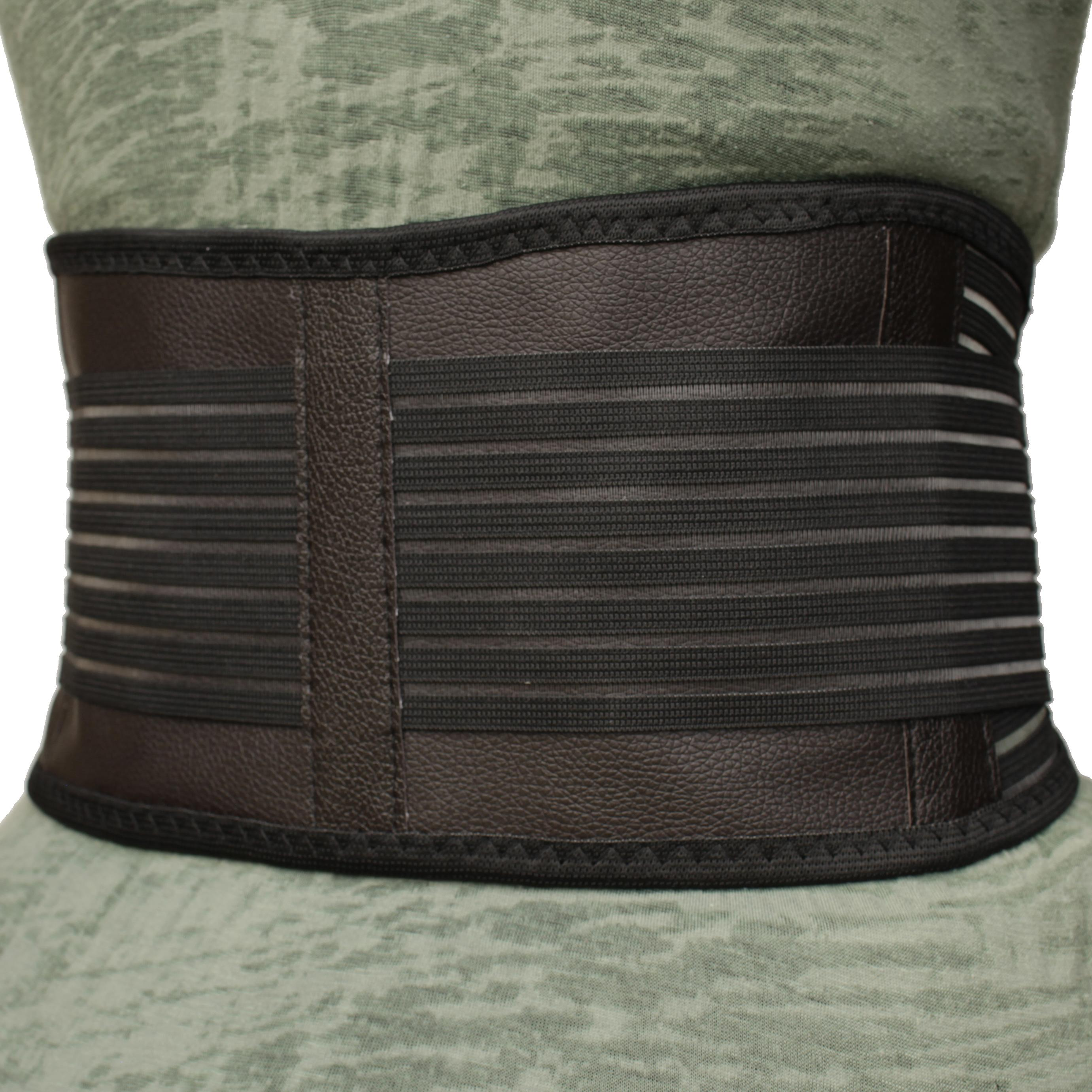 Self-Heating Back Support | Magnets & Tourmaline | Adjustable Fit