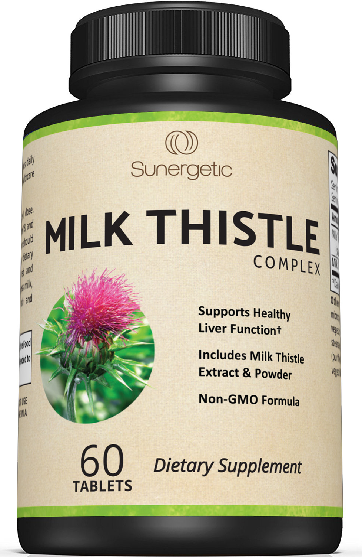 Sunergetic Premium Milk Thistle Supplement