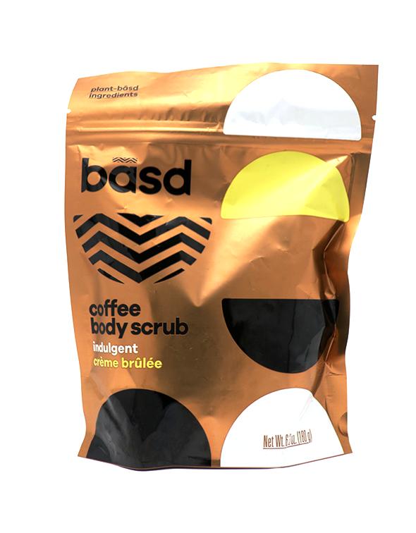 Indulgent Creme Brulee Coffee Scrub