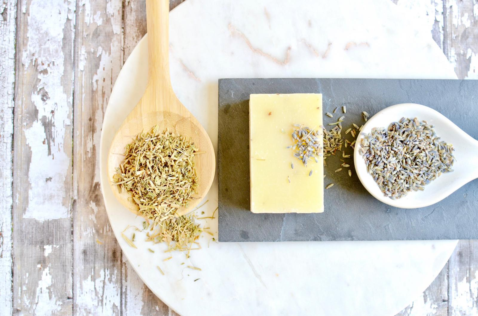 Lavender & Lemongrass Soap - Natural & Handmade