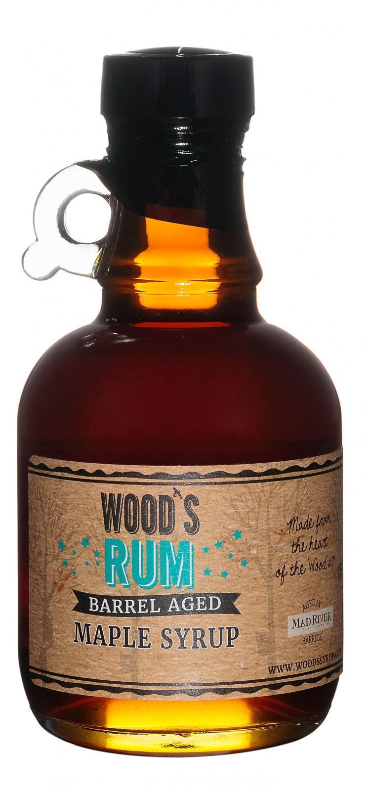 Rum  Barrel Aged Syrup