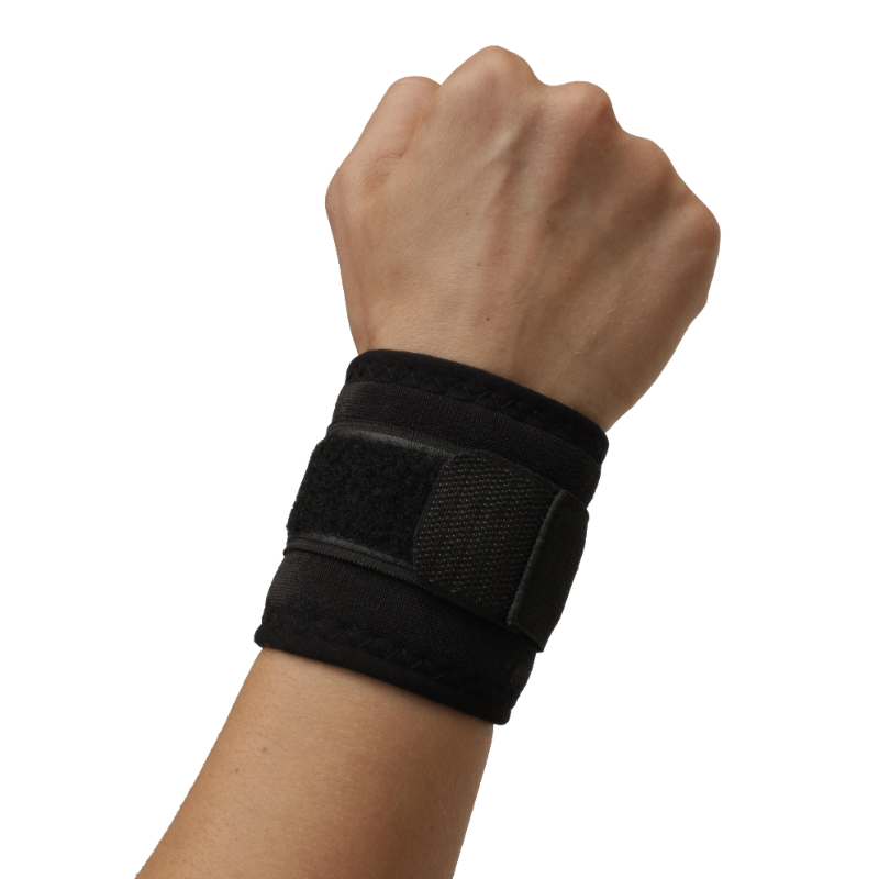 Self-Heating Wrist Support | Magnets & Tourmaline Technology | Adjustable Fit