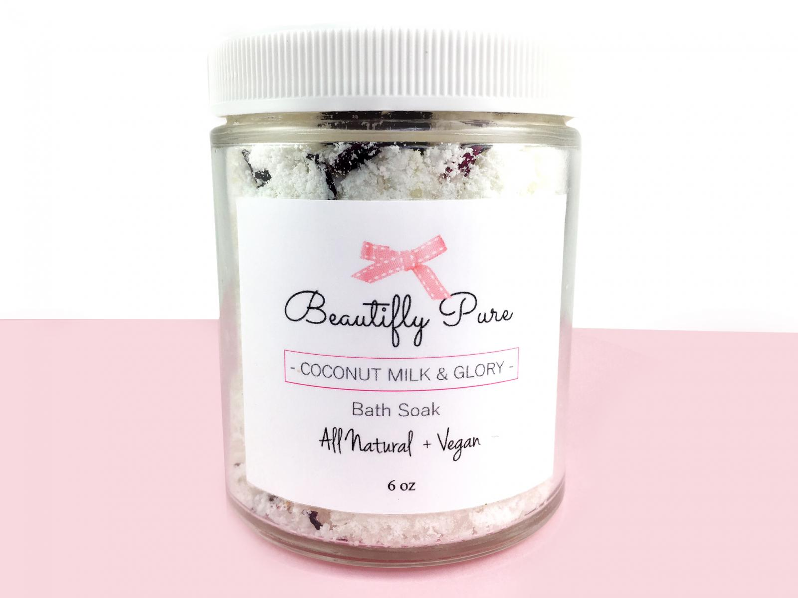 Coconut Milk and Glory Bath Soak