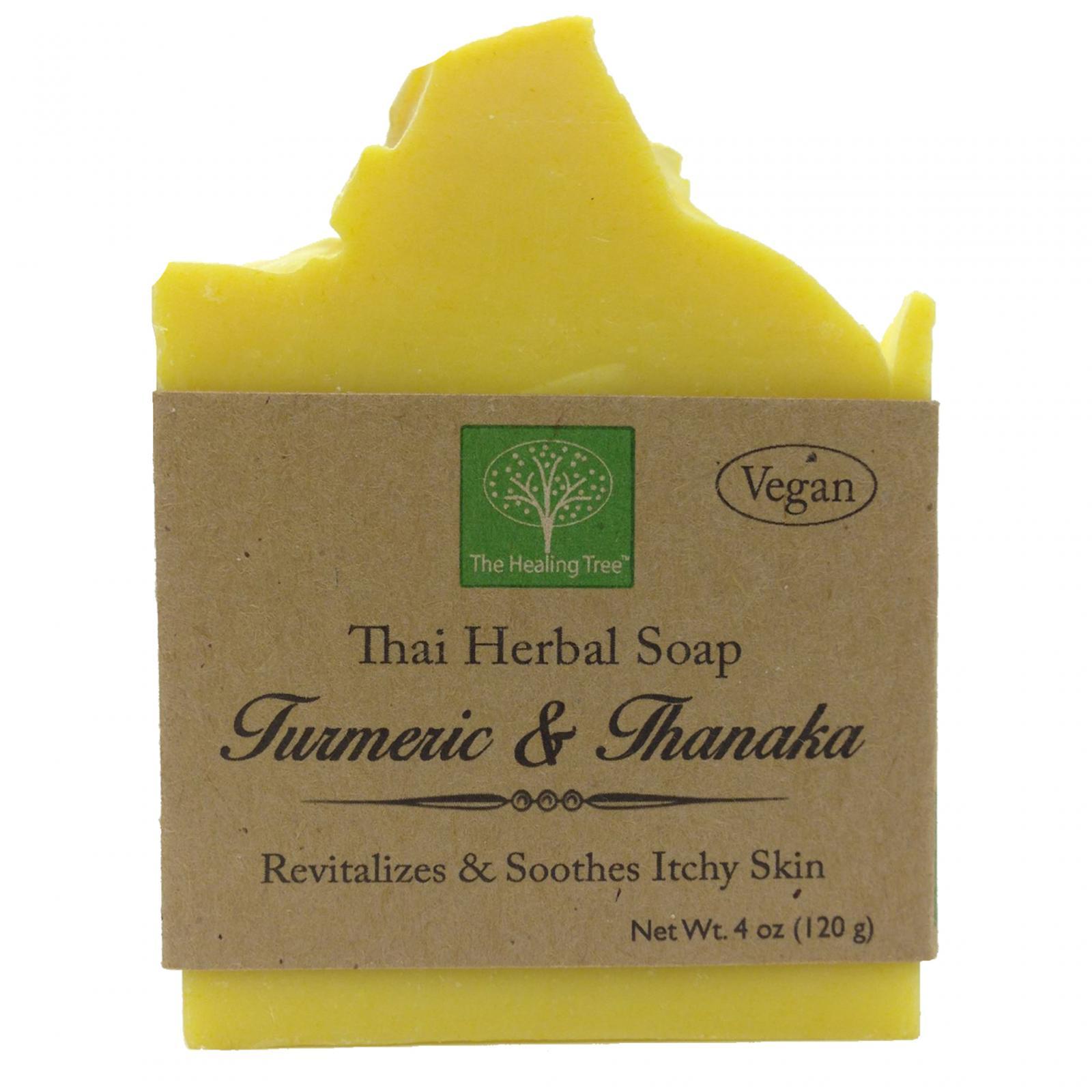 Turmeric & Thanaka Handmade Soap helps Soothe Itchy Skin
