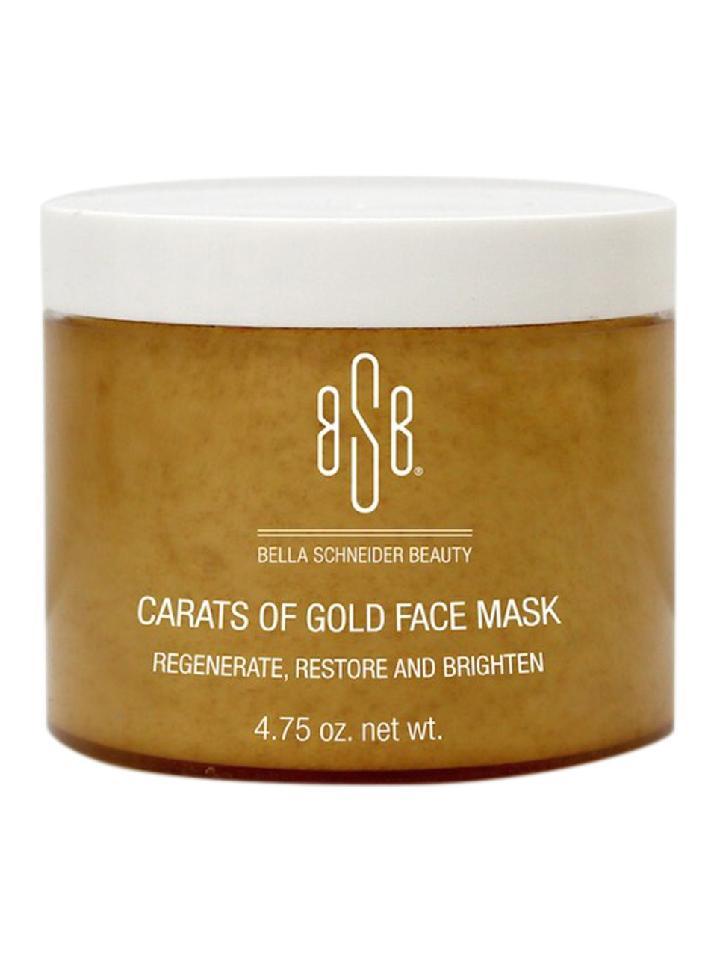 Carats of Gold Face Mask