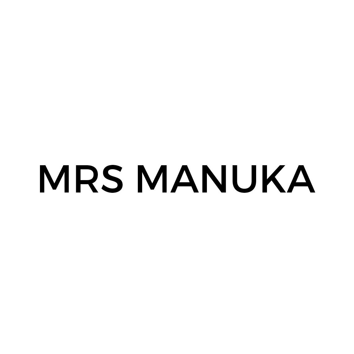 Mrs Manuka's logo
