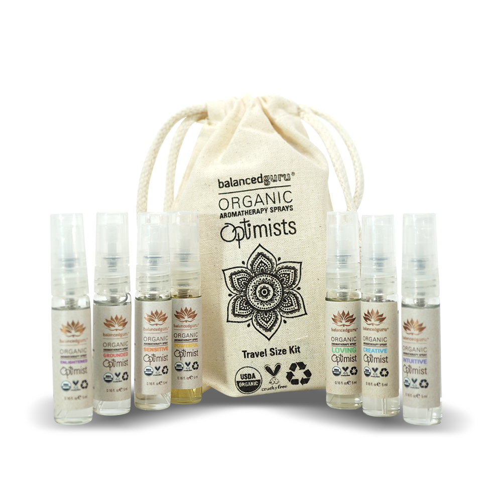 Optimist Aromatherapy Mist Kit by Balanced Guru - Musely