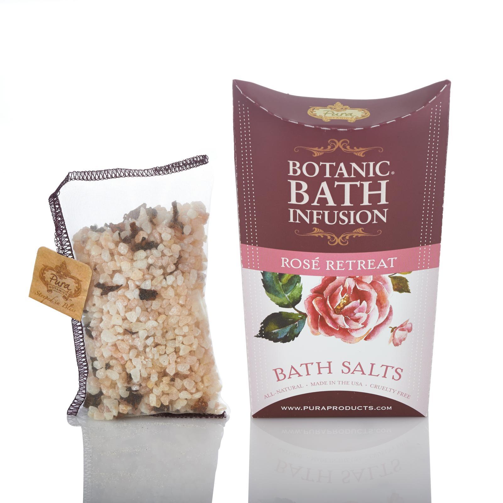 Botanical Bath Salts Single Pack - Rose Retreat