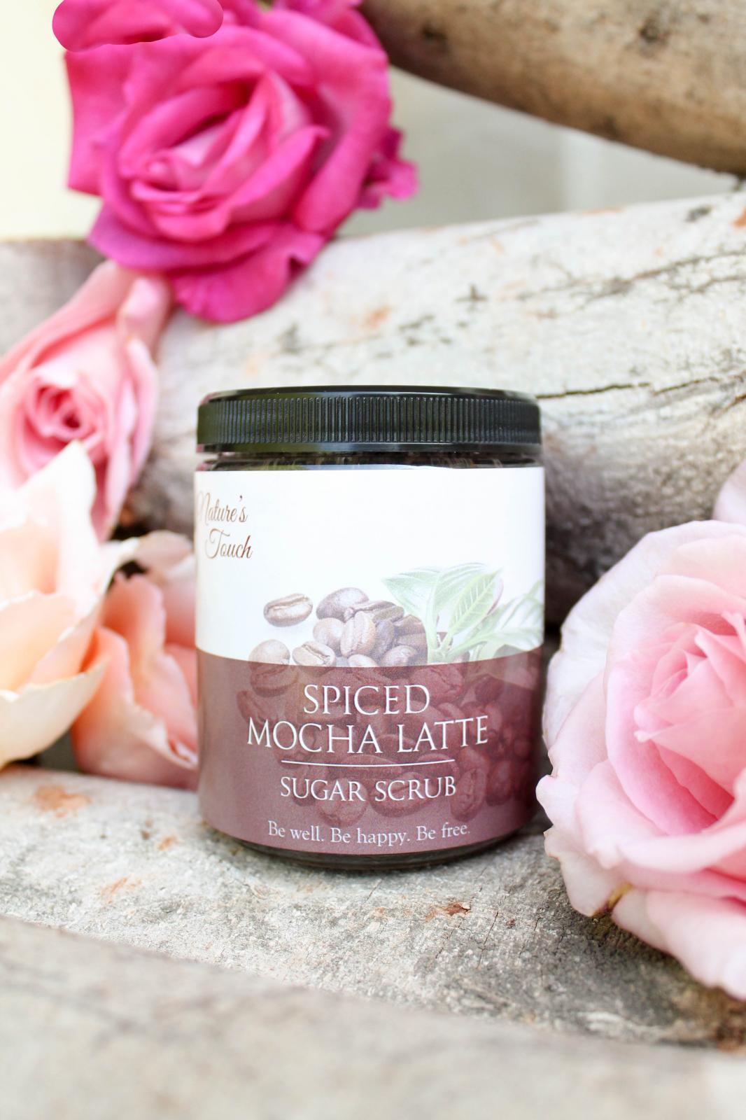 Spiced Mocha Latte Sugar Scrub