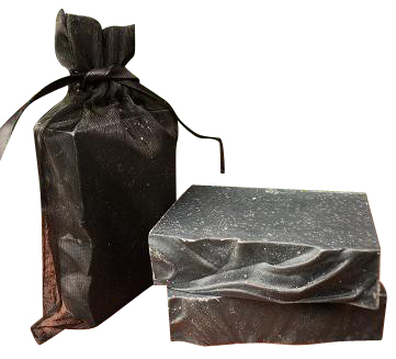 Activated Black Charcoal and Bamboo Acne Soap