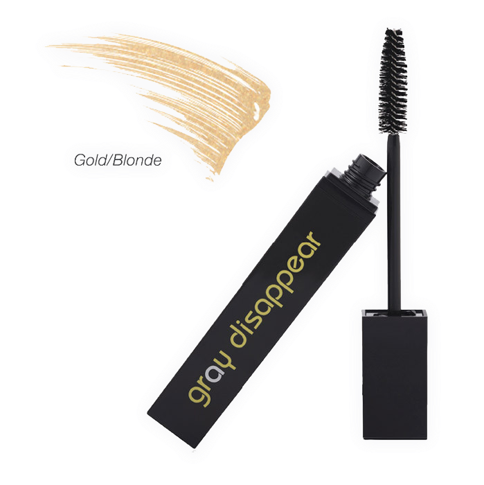 Gray Disappear Paraben Free Hair Mascara (Gold/Blonde)