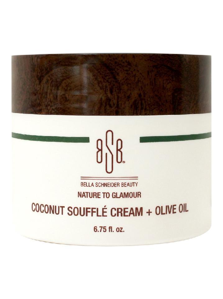 Coconut Souffle Cream + Olive Oil