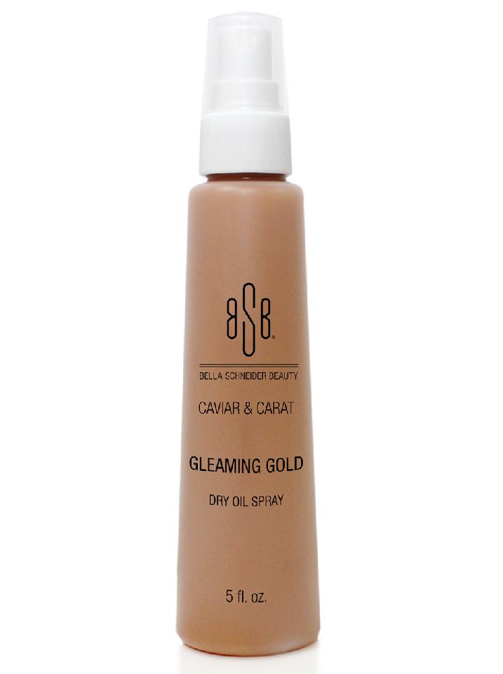 Gleaming Gold Dry Oil Spray