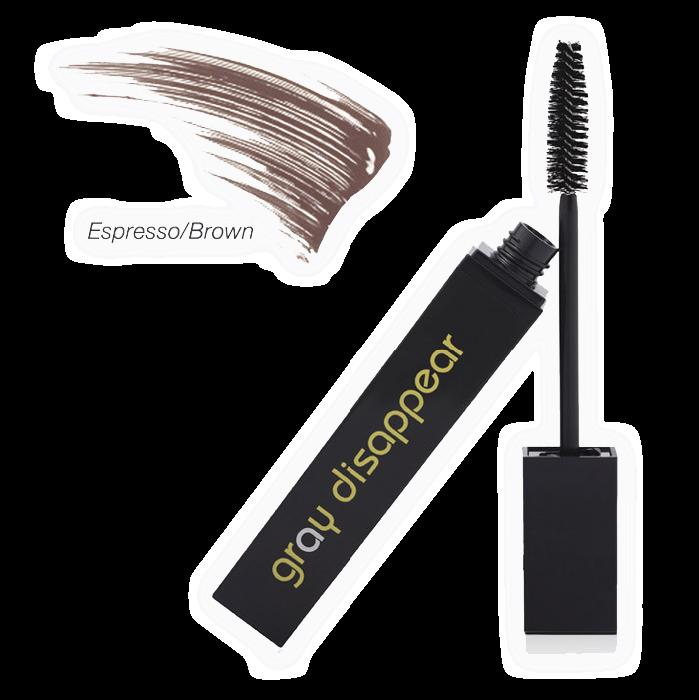 Gray Disappear Paraben Free Hair Mascara (Espresso/Brown)