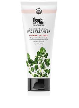 Nourish Organic Moisturizing Cream Face Cleanser Cucumber + Watercress